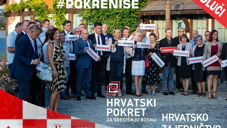 U Vitezu predstavljeni kandidati Hrvatskog pokreta za Središnju Bosnu i Hrvatskog zajedništva