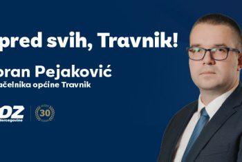 HDZ 1990 Travnik: potpora gosp. Goranu Pejakoviću za načelnika Općine Travnik